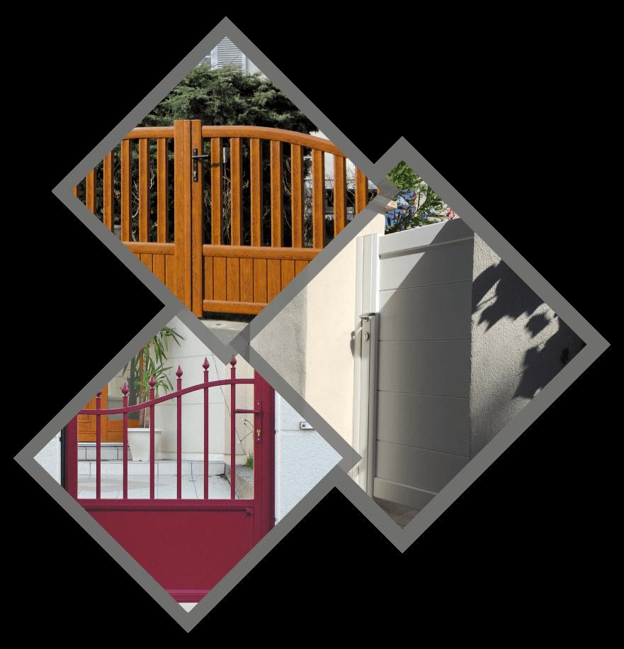 Vieux Portail En Bois siam provence : portails en aluminium, bois et pvc à toulon